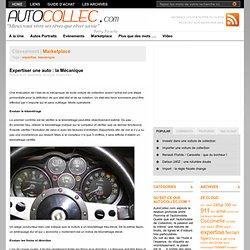 Expertise mecanique d'une Auto Collection