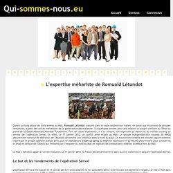 L'expertise méhariste de Romuald Létondot - qui-sommes-nous.eu