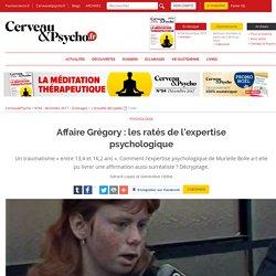 Affaire Grégory : les ratés de l'expertise psychologique