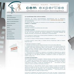 CEM Expertise: Le syndrome des micro-ondes