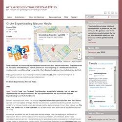 17-06-2014 Grote Expertisedag Nieuwe Media