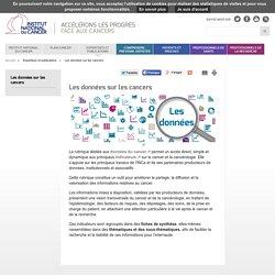 Les données sur les cancers - Expertises et publications