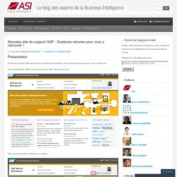 Le blog des experts de la Business Intelligence