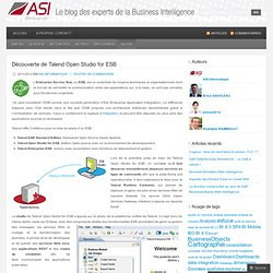 Talend « Le blog des experts de la Business Intelligence