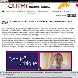 CLEMI - Kit 1er Degré - Déclic'critique