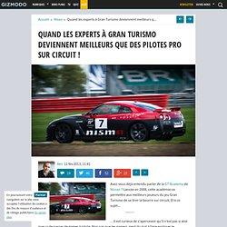 Quand les experts à Gran Turismo deviennent meilleurs que des pilotes pro sur circuit !