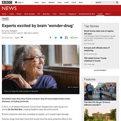 Experts excited by brain 'wonder-drug'