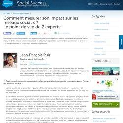 2 experts expliquent comment mesurer son impact sur les réseaux sociaux ?