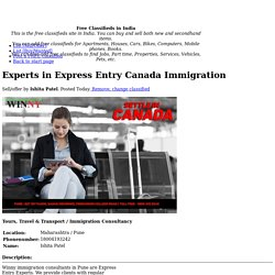 Experts in Express Entry Canada Immigration