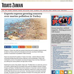 NEWS PANO 11/04/12 Experts express growing concern over marine pollution in Turkey