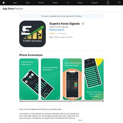 Experts Forex Signals on the AppStore