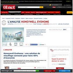 Avis des experts sur Honeywell Evohome sur 01net