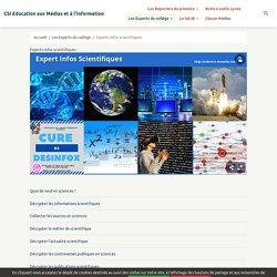 Experts Infos scientifiques