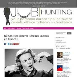 Où Sont les Experts Réseaux Sociaux en France ?