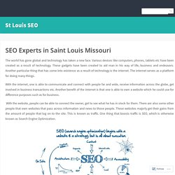 SEO Experts in Saint Louis Missouri – St Louis SEO