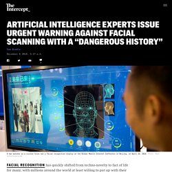 Artificial Intelligence Experts Issue Urgent Warning Against Facial Scanning ...