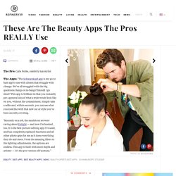 Beauty Experts Best Apps - Schwarzkopf, Styleseat