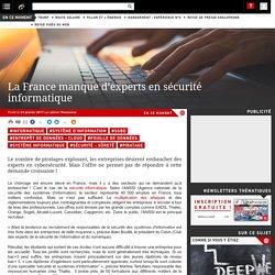 La France manque d'experts en sécurité informatique