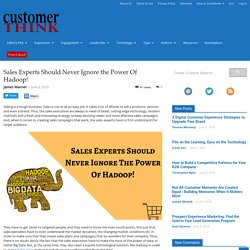 What can I business expert never control of Hadoop technology?