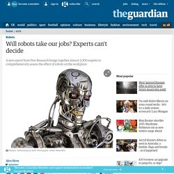 Will robots take our jobs? Experts can't decide