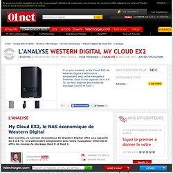 Avis des experts sur Western Digital My Cloud EX2 sur 01net
