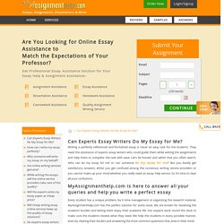 Do My Essay for Me: Hire Experts Essay Writers for Writing Essays from Online Services