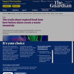 The truth about expired food: how best-before dates create a waste mountain