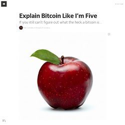 Explain Bitcoin Like I'm Five