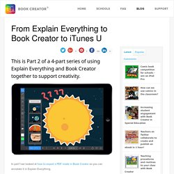 From Explain Everything to Book Creator to iTunes U