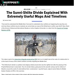 The Sunni-Shiite Divide Explained With Extremely Useful Maps And Timelines