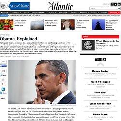 Obama, Explained - James Fallows