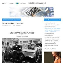 Stock Market Explained– Intelligence Analyst