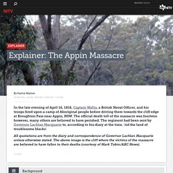 Explainer: The Appin Massacre