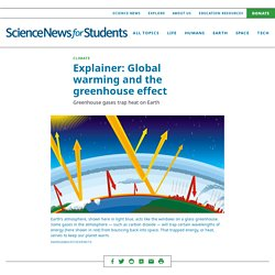Explainer: Global warming and the greenhouse effect