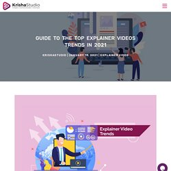 Explainer Video Trends Guide for the Year 2021
