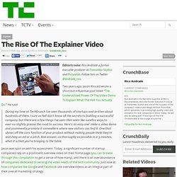 The Rise Of The Explainer Video