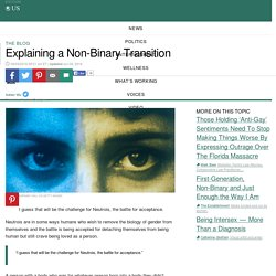 Explaining a Non-Binary Transition