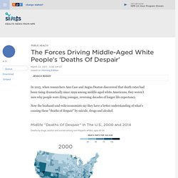 Explaining The Rising Death Rate In Middle-Aged White People