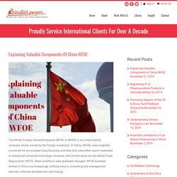 Explaining Valuable Components of China WFOE