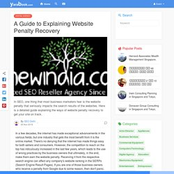 A Guide to ExplainingWebsite Penalty Recovery
