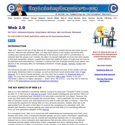 ExplainingComputers.com: Web 2.0