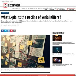 What Explains the Decline of Serial Killers?