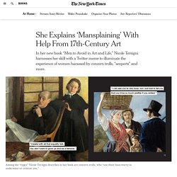 She Explains 'Mansplaining' With Help From 17th-Century Art