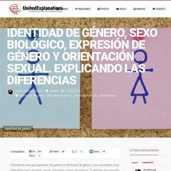 United Explanations – Identidad de género, sexo biológico, expresión de género y orientación sexual. Explicando las diferencias