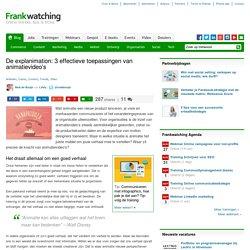 De explanimation: 3 effectieve toepassingen van animatievideo's - Frankwatching