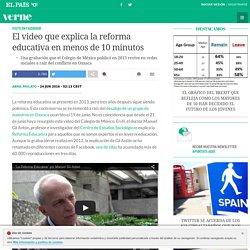 El video que explica la reforma educativa en menos de 10 minutos