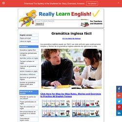 Explicaciones y ejercicios de gramática inglesa fácil