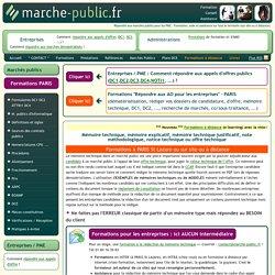 Mémoire technique offre marchés publics mémoire explicatif ou note méthodologique ou offre technique