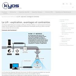 Le LiFi : explication, avantages et contraintes