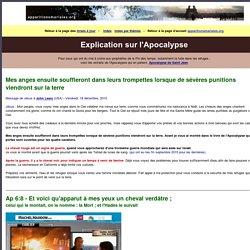 Explication sur l'Apocalypse